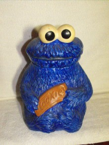 Cookie Monster Muppets Collector Cookie Jar Collector