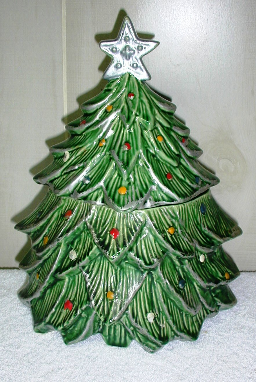 Mc Coy Christmas Tree Collector Cookie Jar – Collector ...