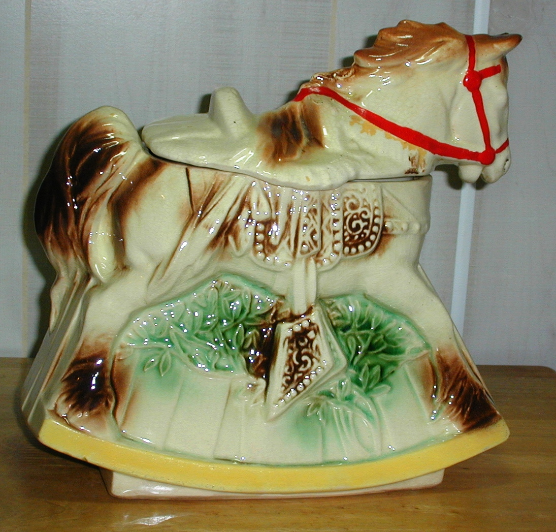 Rocking Horse By Mccoy Collector Cookie Jar Collector