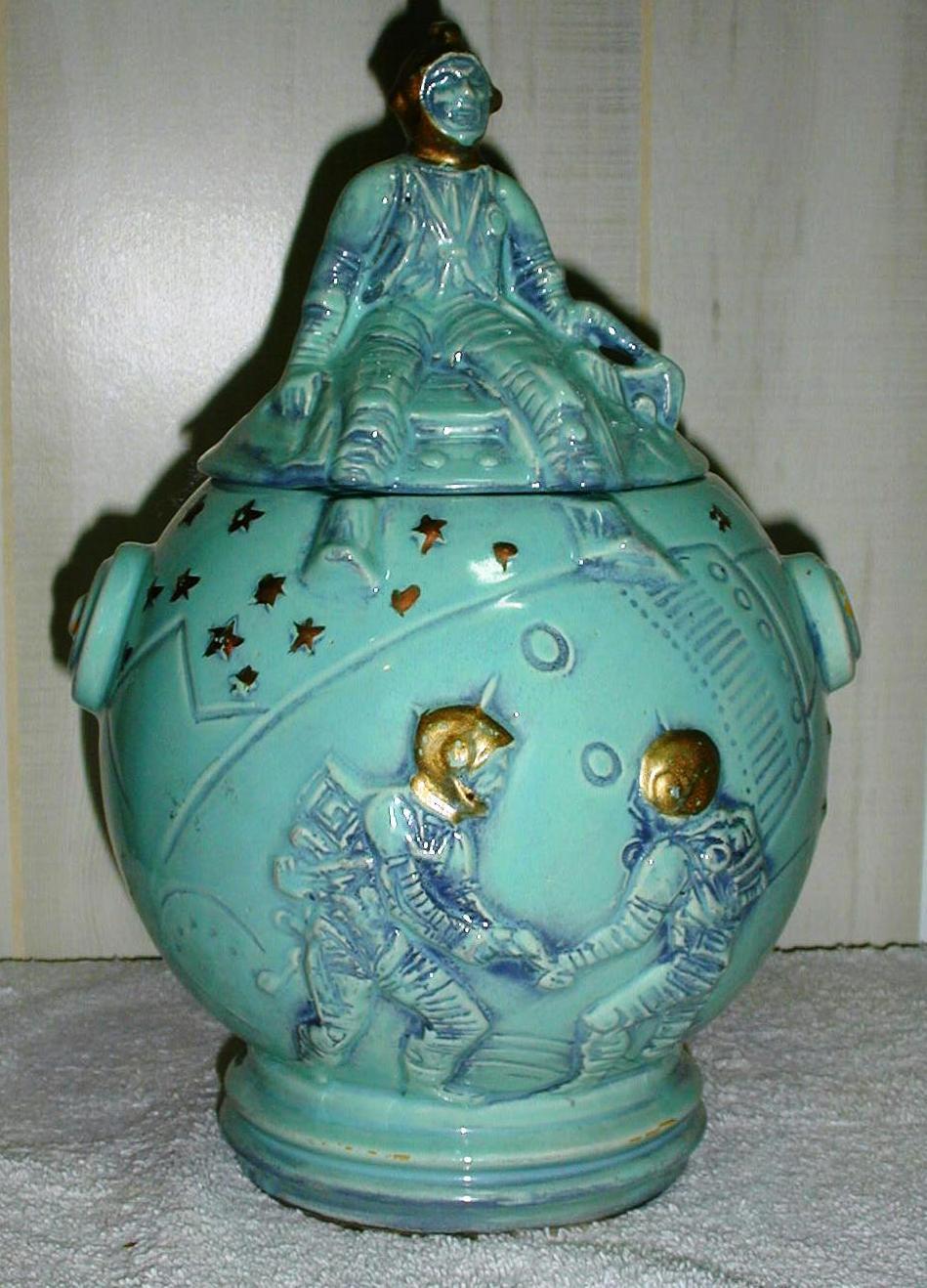 Astronaut Cookie Jar By Mc Coy Collector Cookie Jars