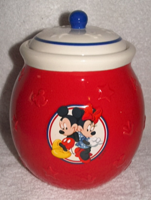 Images For Disney Cookie Jars >> Disney Mickey Minnie Mouse Collector Cookie Jar