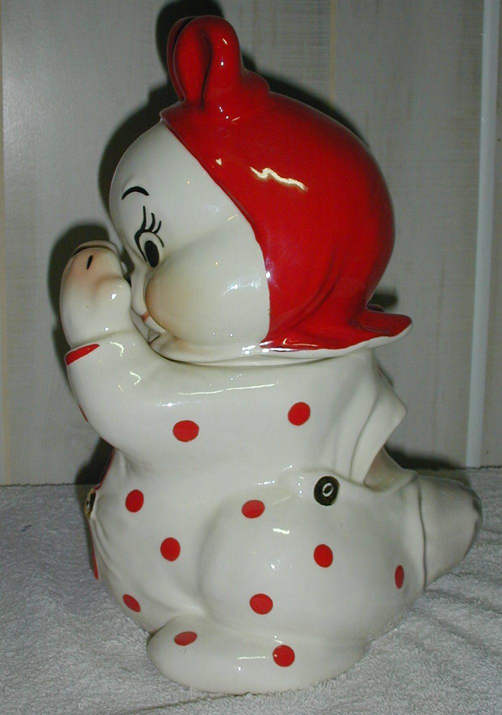 Van Tellingen Peek A Boo Bunny Collector Cookie Jar Collector